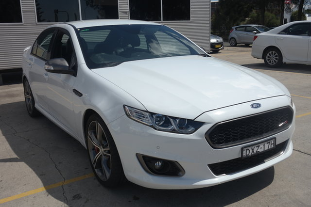 Used Ford Falcon FG X XR8 Maryville, 2015 Ford Falcon FG X XR8 White 6 Speed Sports Automatic Sedan