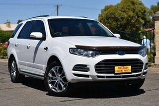 2013 Ford Territory SZ Titanium Seq Sport Shift White 6 Speed Sports Automatic Wagon.