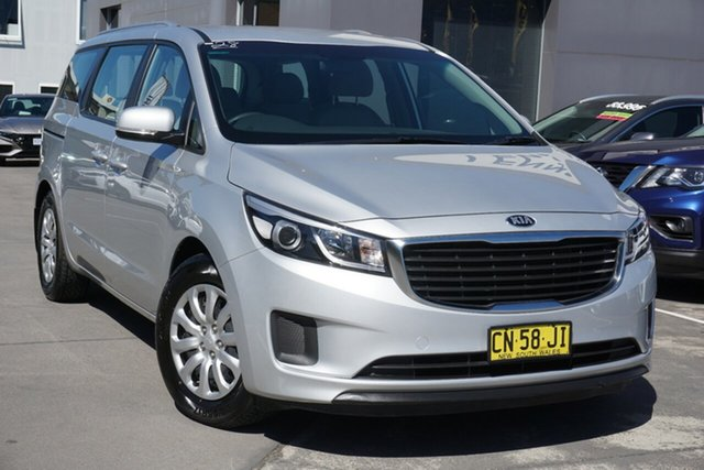 Used Kia Carnival YP MY17 S Phillip, 2017 Kia Carnival YP MY17 S Silver 6 Speed Sports Automatic Wagon