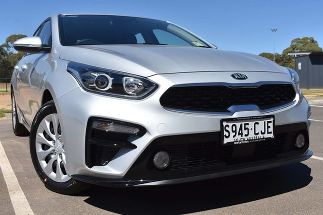 Demo Kia Cerato BD MY21 S St Marys, 2020 Kia Cerato BD MY21 S Silky Silver 6 Speed Sports Automatic Hatchback