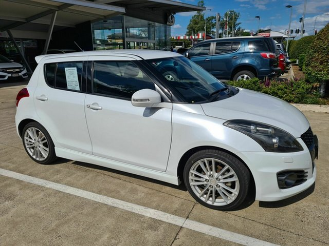 Used Suzuki Swift FZ Sport Yamanto, 2012 Suzuki Swift FZ Sport White 7 Speed Constant Variable Hatchback