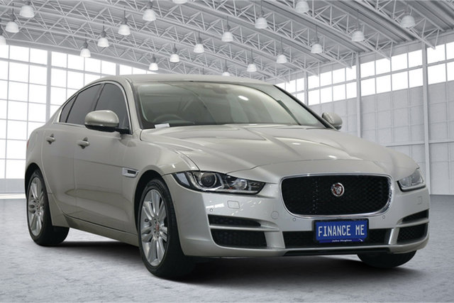 Used Jaguar XE X760 MY16 Portfolio Victoria Park, 2016 Jaguar XE X760 MY16 Portfolio Bronze 8 Speed Sports Automatic Sedan