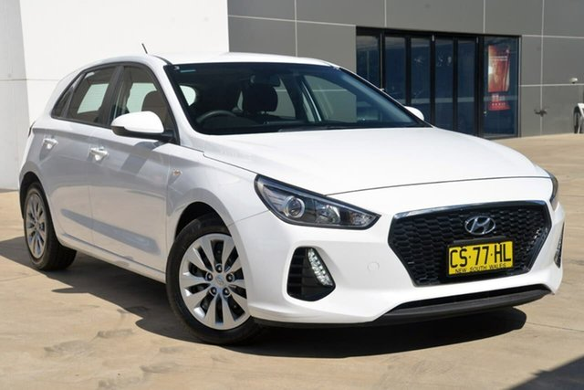 Used Hyundai i30 PD MY19 Go Tuggerah, 2019 Hyundai i30 PD MY19 Go White 6 Speed Sports Automatic Hatchback
