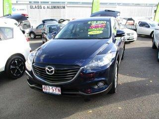 2013 Mazda CX-9 LUXURY Blue 4 Speed Automatic Wagon.