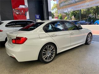 2014 BMW 3 Series F30 320d M Sport White Sports Automatic Sedan