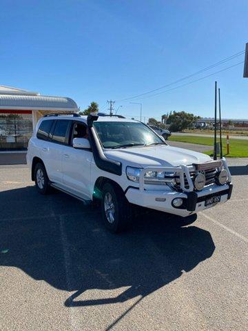 Used Toyota Landcruiser VDJ200R LC200 GXL (4x4) Prospect, 2018 Toyota Landcruiser VDJ200R LC200 GXL (4x4) White 6 Speed Automatic Wagon