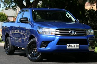 2015 Toyota Hilux GUN123R SR Extra Cab 4x2 Blue 5 Speed Manual Utility.