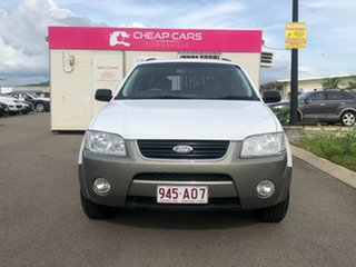 2004 Ford Territory SX TS AWD White 4 Speed Sports Automatic Wagon