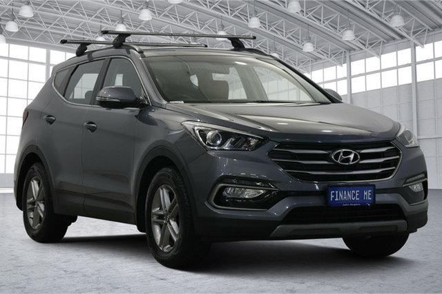 Used Hyundai Santa Fe DM3 MY17 Active Victoria Park, 2017 Hyundai Santa Fe DM3 MY17 Active Silver 6 Speed Sports Automatic Wagon