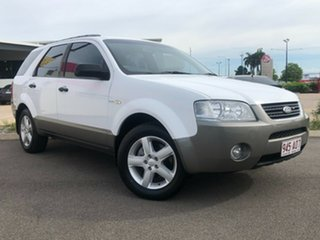 2004 Ford Territory SX TS AWD White 4 Speed Sports Automatic Wagon.