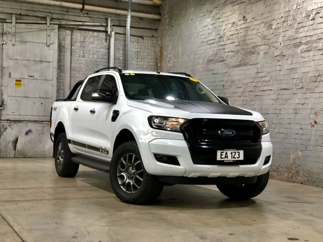 Used Ford Ranger PX MkII FX4 Double Cab Mile End South, 2017 Ford Ranger PX MkII FX4 Double Cab White 6 Speed Manual Utility