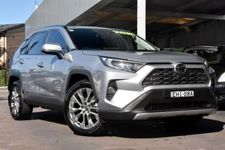 2020 Toyota RAV4 Mxaa52R Cruiser 2WD Silver 10 Speed Constant Variable Wagon.