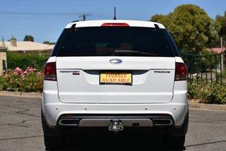 2013 Ford Territory SZ Titanium Seq Sport Shift White 6 Speed Sports Automatic Wagon