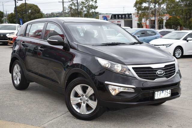 Used Kia Sportage SL SI Ferntree Gully, 2011 Kia Sportage SL SI Black 6 Speed Sports Automatic Wagon