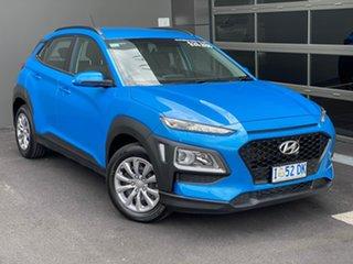 2019 Hyundai Kona OS.2 MY19 Go D-CT AWD Blue 7 Speed Sports Automatic Dual Clutch Wagon.
