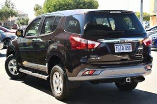 2017 Isuzu MU-X MY17 LS-M Rev-Tronic Metallic Dark Brown/ 6 Speed Sports Automatic Wagon.
