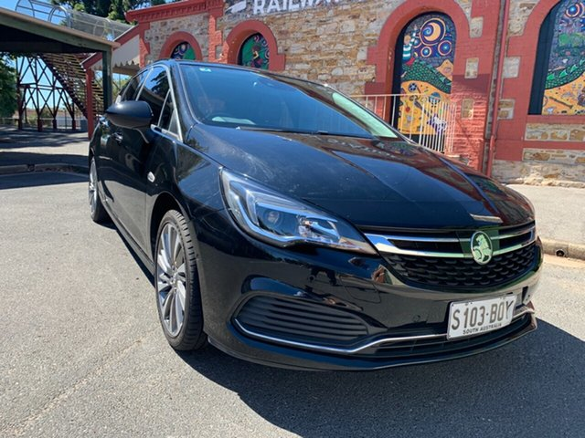 Used Holden Astra BK MY17 RS-V Cheltenham, 2017 Holden Astra BK MY17 RS-V Black 6 Speed Sports Automatic Hatchback