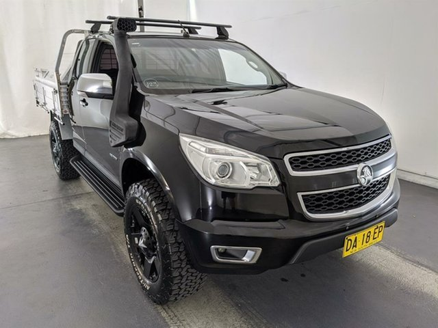 Used Holden Colorado RG MY13 LTZ Space Cab Maryville, 2012 Holden Colorado RG MY13 LTZ Space Cab Black 6 Speed Sports Automatic Utility