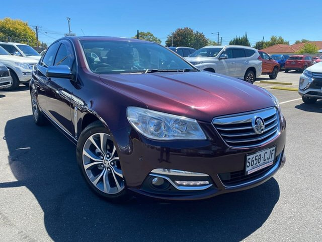 Used Holden Calais VF MY14 Hillcrest, 2013 Holden Calais VF MY14 Maroon 6 Speed Sports Automatic Sedan