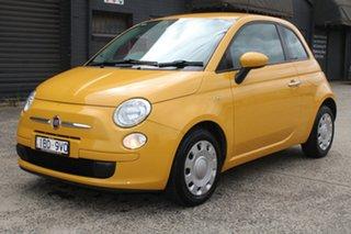 2013 Fiat 500 MY13 POP Yellow 5 Speed Automatic Hatchback