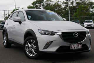 2017 Mazda CX-3 DK2W7A Maxx SKYACTIV-Drive Silver 6 Speed Sports Automatic Wagon.