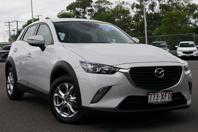 Used Mazda CX-3 DK2W7A Maxx SKYACTIV-Drive Hillcrest, 2017 Mazda CX-3 DK2W7A Maxx SKYACTIV-Drive Silver 6 Speed Sports Automatic Wagon