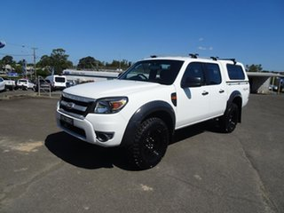 2009 Ford Ranger PK XL Crew Cab Alabaster White 5 Speed Manual Utility.