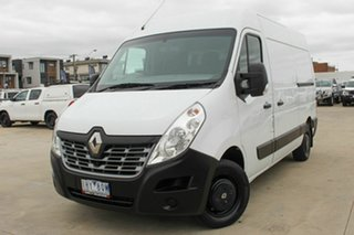 2016 Renault Master X62 Mid Roof MWB AMT White 6 Speed Sports Automatic Single Clutch Van.