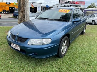 2002 Holden Commodore VX II Executive Blue 4 Speed Automatic Sedan.