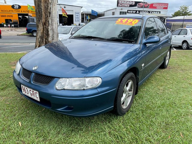 Used Holden Commodore VX II Executive Clontarf, 2002 Holden Commodore VX II Executive Blue 4 Speed Automatic Sedan