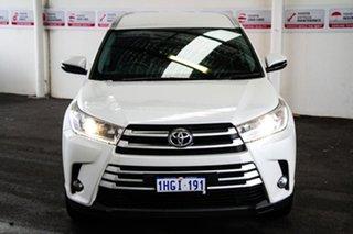 2017 Toyota Kluger GSU55R MY17 GXL (4x4) Crystal Pearl 8 Speed Automatic Wagon.