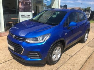 2016 Holden Trax TJ LS Blue Automatic.
