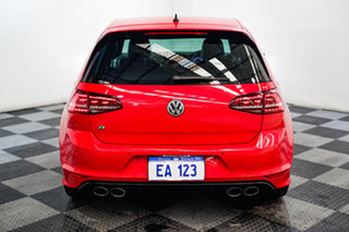 2016 Volkswagen Golf VII MY16 R DSG 4MOTION Red/Black 6 Speed Sports Automatic Dual Clutch Hatchback