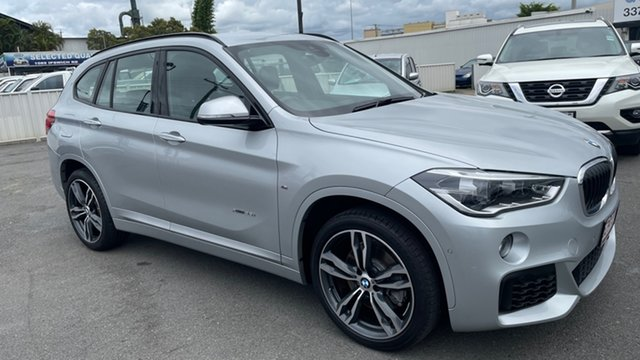 Used BMW X1 F48 xDrive25i Steptronic AWD Moorooka, 2017 BMW X1 F48 xDrive25i Steptronic AWD Silver 8 Speed Sports Automatic Wagon