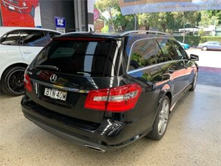 2010 Mercedes-Benz E-Class W212 E350 Avantgarde Black Sports Automatic Wagon
