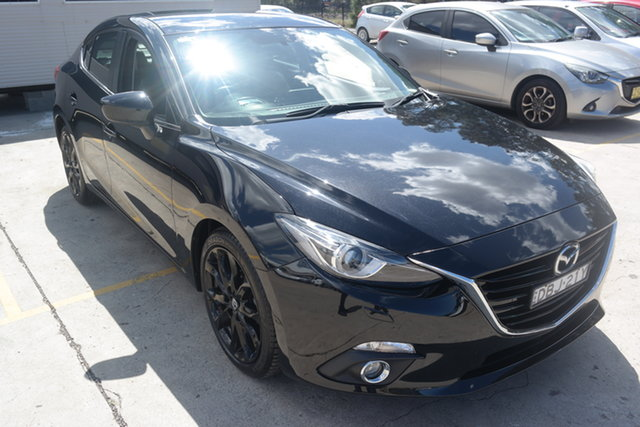 Used Mazda 3 BM5238 SP25 SKYACTIV-Drive GT Maryville, 2015 Mazda 3 BM5238 SP25 SKYACTIV-Drive GT Black 6 Speed Sports Automatic Sedan