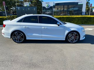 2017 Audi S3 8V MY17 S Tronic Quattro White 7 Speed Sports Automatic Dual Clutch Sedan
