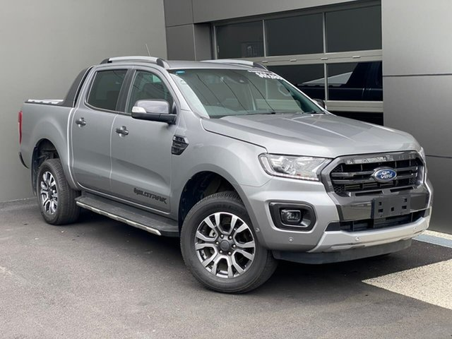 Used Ford Ranger PX MkIII 2019.00MY Wildtrak Hobart, 2019 Ford Ranger PX MkIII 2019.00MY Wildtrak Silver 10 Speed Sports Automatic Double Cab Pick Up