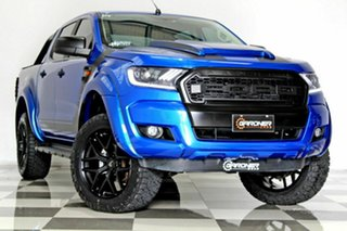 2017 Ford Ranger PX MkII MY18 XL 3.2 (4x4) Blue 6 Speed Automatic Crew Cab Utility.
