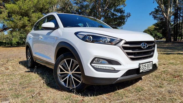 Used Hyundai Tucson TL Active X 2WD Nuriootpa, 2015 Hyundai Tucson TL Active X 2WD Pure White 6 Speed Sports Automatic Wagon