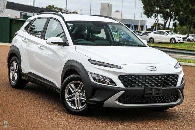 New Hyundai Kona Os.v4 MY21 2WD Nailsworth, 2021 Hyundai Kona Os.v4 MY21 2WD Atlas White 8 Speed Constant Variable Wagon