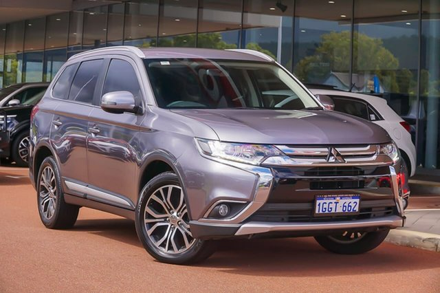 Used Mitsubishi Outlander ZK MY17 LS 2WD Gosnells, 2017 Mitsubishi Outlander ZK MY17 LS 2WD Grey 6 Speed Constant Variable Wagon