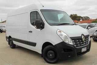 2016 Renault Master X62 Mid Roof MWB AMT White 6 Speed Sports Automatic Single Clutch Van