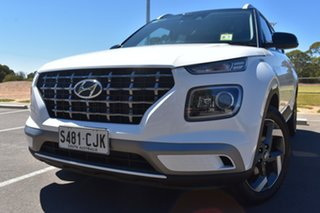 2020 Hyundai Venue QX.V3 MY21 Elite Polar White 6 Speed Automatic Wagon