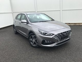 2021 Hyundai i30 PD.V4 MY21 Silver 6 Speed Sports Automatic Hatchback.