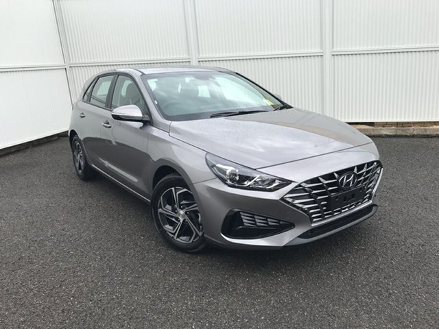 New Hyundai i30 PD.V4 MY21 Gladstone, 2021 Hyundai i30 PD.V4 MY21 Silver 6 Speed Sports Automatic Hatchback