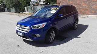 2016 Ford Escape ZG Titanium Blue 6 Speed Sports Automatic Dual Clutch SUV