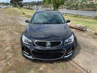 2016 Holden Commodore VF II MY16 SS V Redline Black 6 Speed Manual Sedan