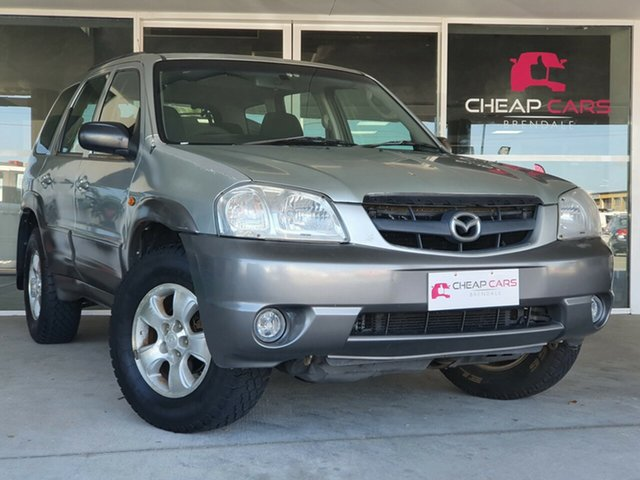 Used Mazda Tribute MY2004 Limited Sport Brendale, 2005 Mazda Tribute MY2004 Limited Sport Silver 4 Speed Automatic Wagon