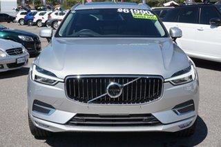 2019 Volvo XC60 UZ MY19 T5 AWD Inscription Silver 8 Speed Sports Automatic Wagon.